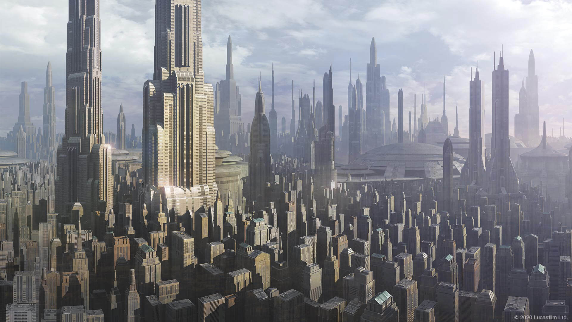 Background Coruscant By Star Wars Wallpapers Wallpaperhub