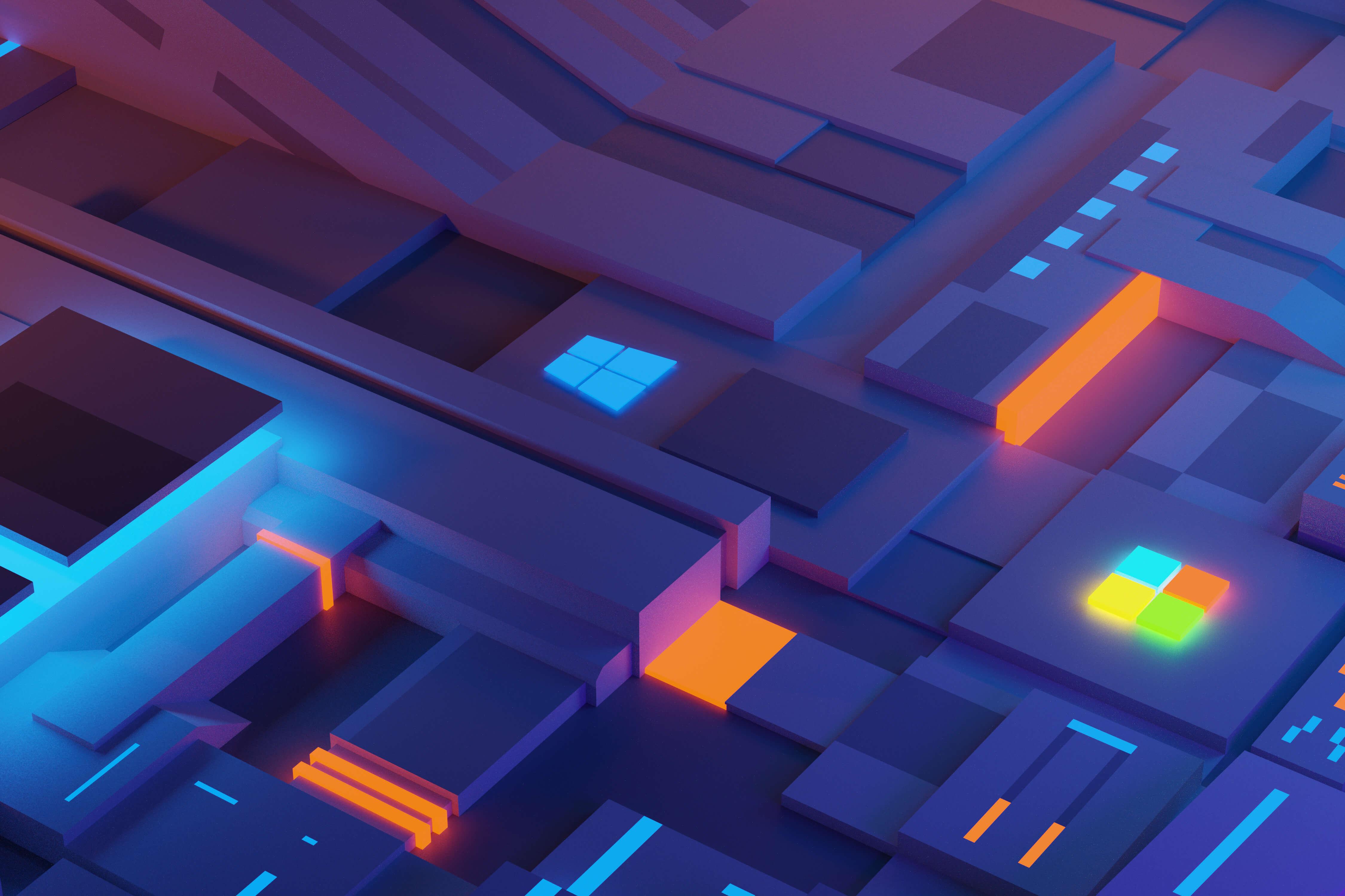 Pixel Blocks by Genrole Caspe   Wallpapers   WallpaperHub