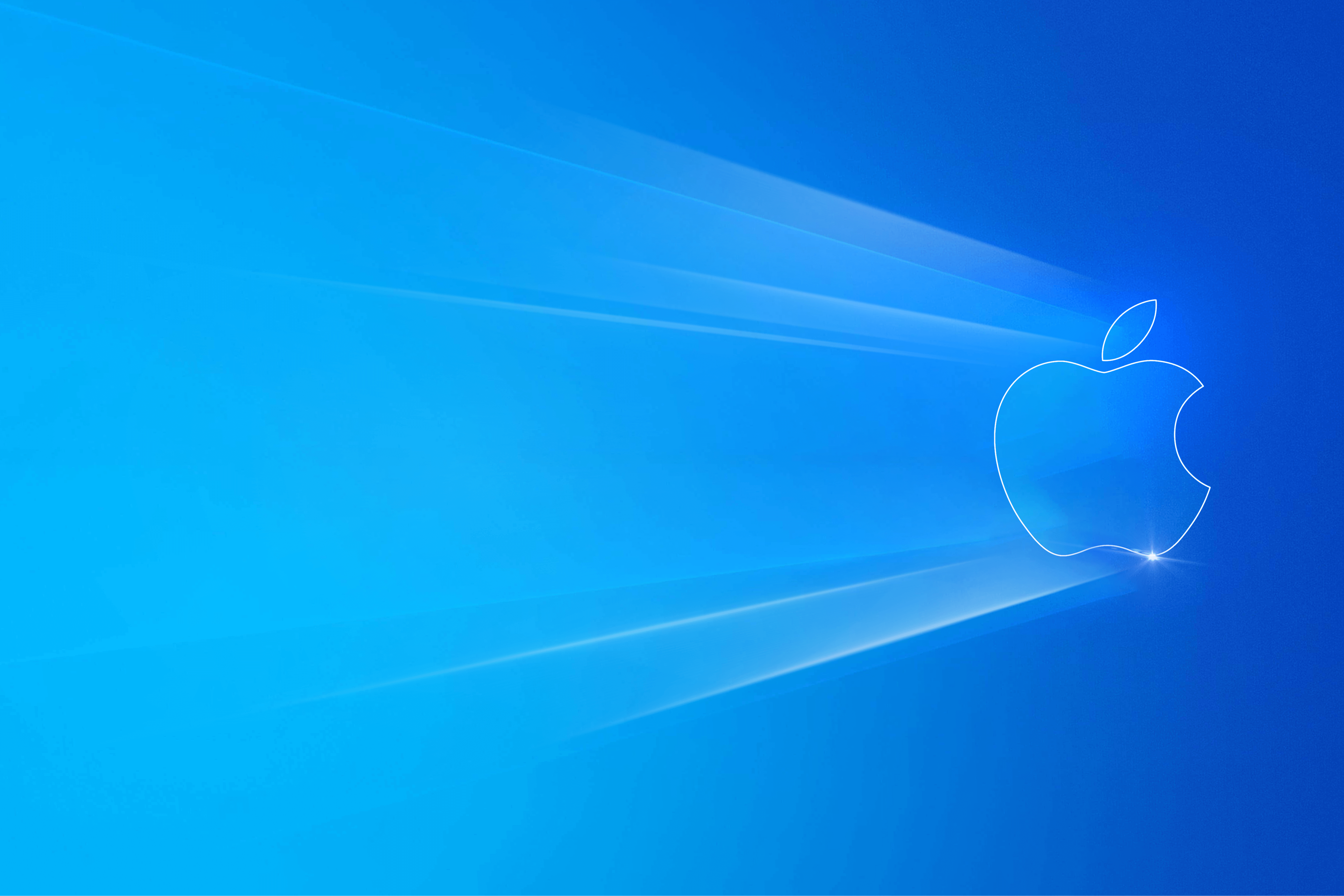 Windows 10 Light Apple By Johnny Leo Wallpapers Wallpaperhub