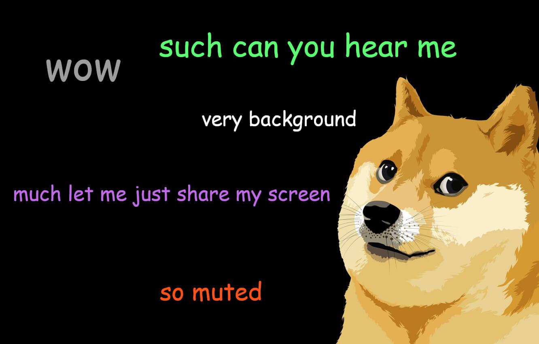 Background Doge 2 By Michael Gillett Wallpapers Wallpaperhub